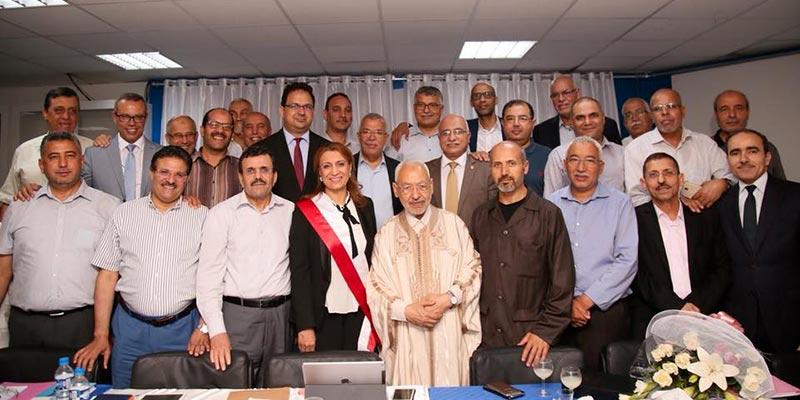 Souad Abderrahim et les 26 hommes d'Ennahdha