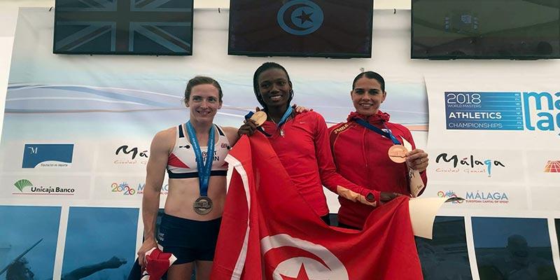 La Tunisienne Soumaya Bousaïd est championne du monde