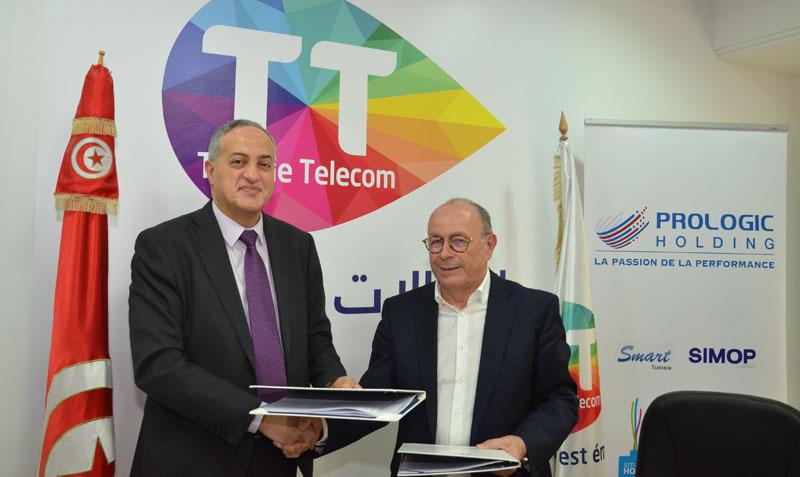 Tunisie Telecom et PROLOGIC Holding : Une confiance renouvelée