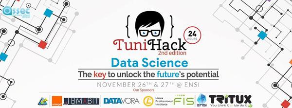 La 2éme édition de Tunihack sous le thème de DATASCIENCE : un événement à ampleur et des prix envoûtants.