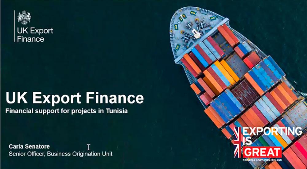 UK Export Finance - un fond pour un partenariat Tuniso- britannique