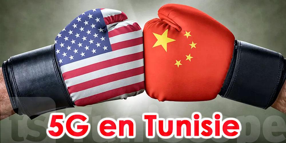 Combat USA vs Chine sur la 5G en Tunisie