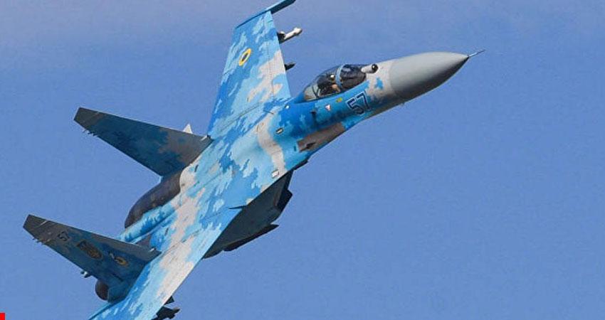 تحطم طائرة أوكرانية خلال تدريبات عسكرية