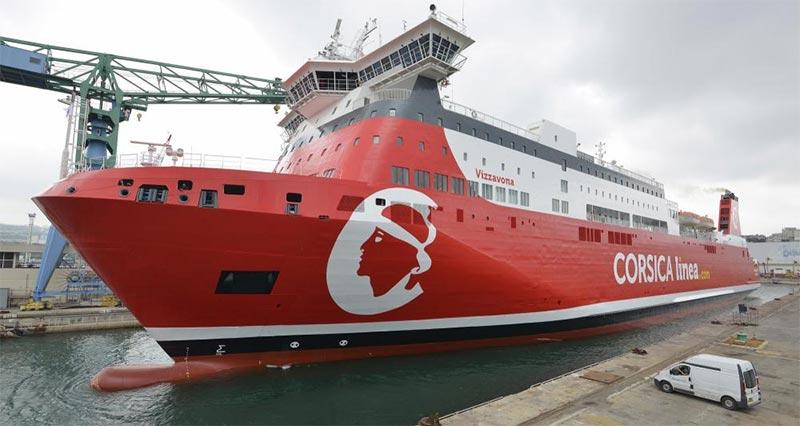 إلغاء رحلة السفينة ''VIZZAVONA''