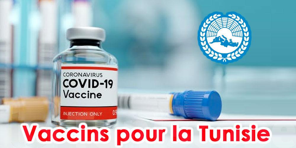 L'Assemblée Parlementaire de la Méditerranée prête à fournir des vaccins aux Tunisiens
