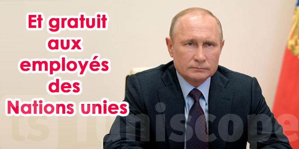 Un vaccin anti-Covid russe bientôt disponible dans le monde entier, selon Poutine