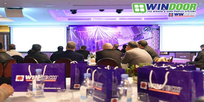 Wintech organise l'évènement La fenêtre pvc en couleur