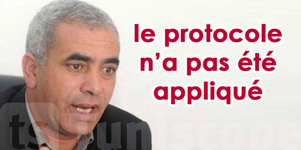 Lassaad Yacoubi : On demande la suspension des cours car aucun protocole n'est appliqué