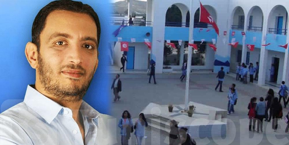 Yassine Ayari commence sa lutte contre le décrochage scolaire