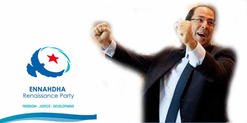 Chahed peut être le candidat d'Ennahdha, déclare Ghannouchi