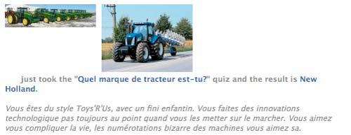 Découvrez le tracteur en vous !