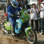 Rallye Oilybia 2010: le vrai show commence! (Photos et vidéo)