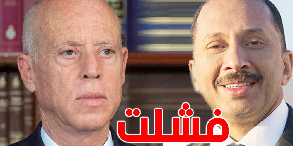 محمد عبو : قيس سعيد فشل