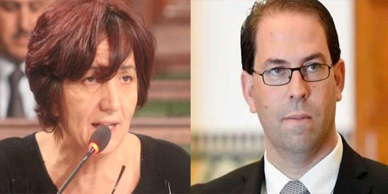 Des affaires de corruption impliqueraient Youssef Chahed, selon Samia Abbou