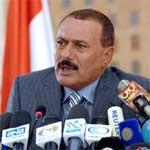 Ali Abdallah Saleh :1ère apparition à la TV depuis un mois