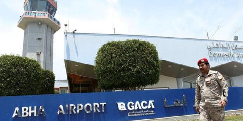 الحوثيون يعلنون استهداف مطار أبها السعودي بطائرات مسيرة