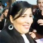 L'ex avocate du RCD Abir Moussi condamnée à une amende de 9,6 dinars