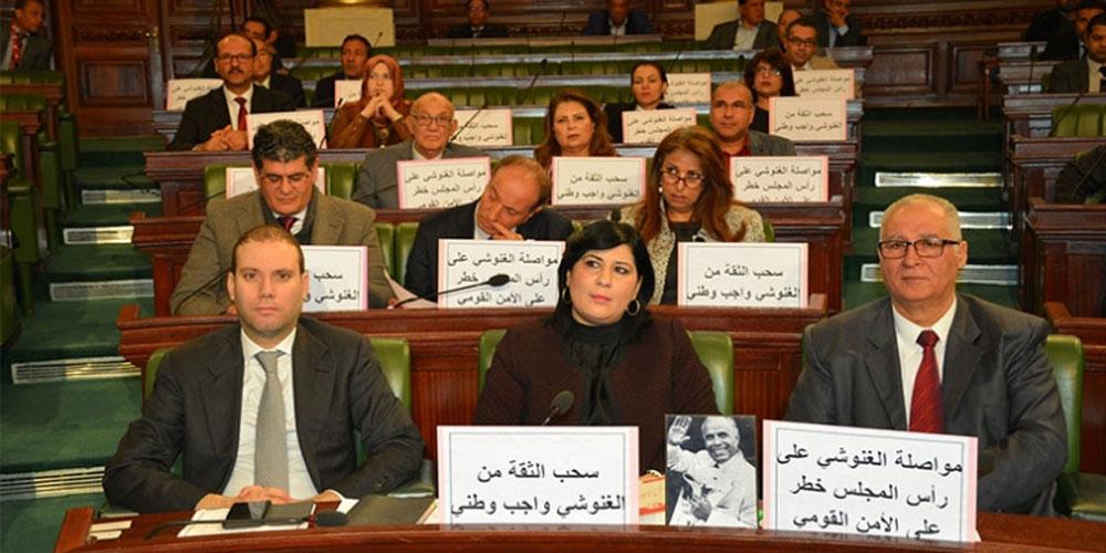 عبير موسي ترفع قضية ضدّ القيادي بالنهضة رضوان المصمودي