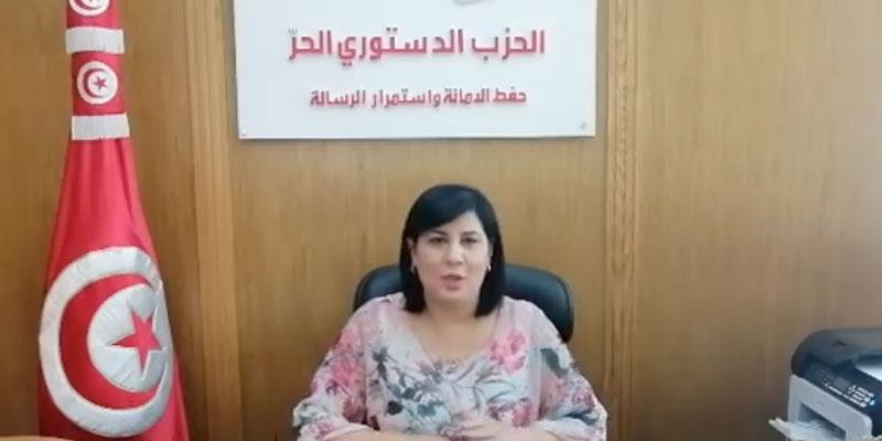 Abir Moussi : Kais Saied est un intégriste obscurantiste