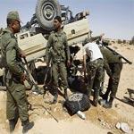 اصابة 6 عسكريين في حادث مرور