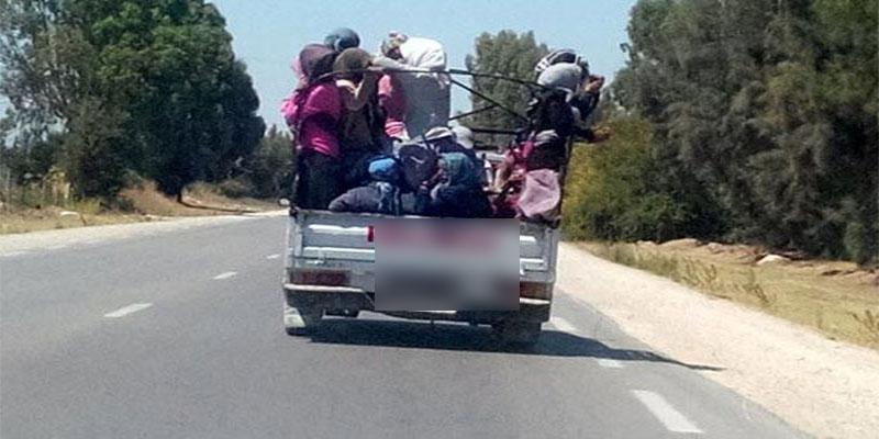Reversement d'un camion transportant des ouvrières agricoles à Médenine