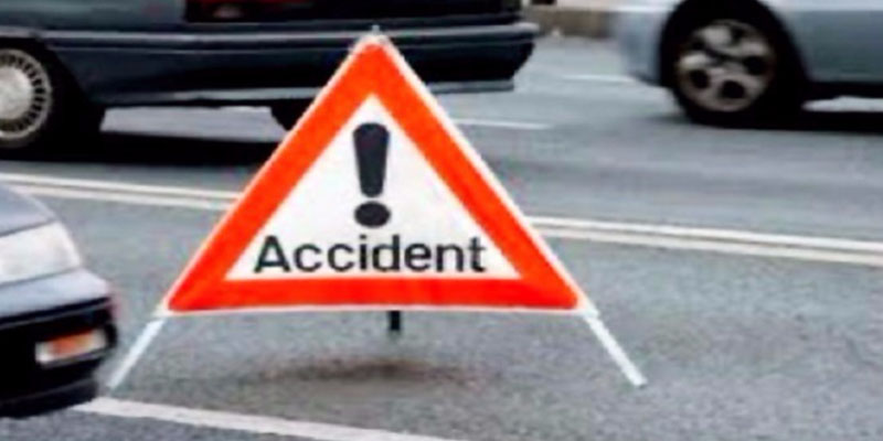 اصطدام بين شاحنة ثقيلة و9 سيارات على الطريق السيارة الحمامات تونس