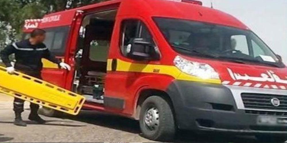 الكاف: وفاة رضيعة وإصابة 13 شخصا في حادث مرور مريع