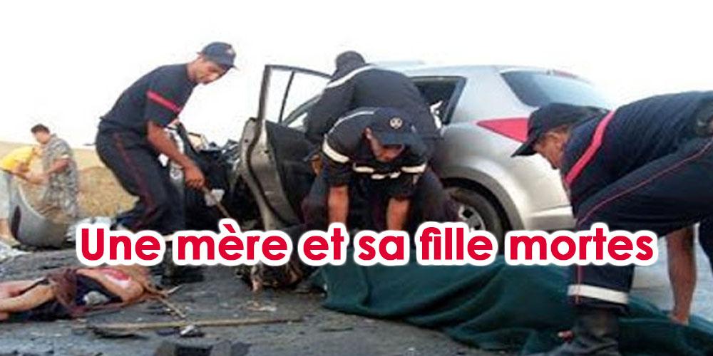 Une mère et sa fille succombent dans un accident de la route à Sidi Bouzid