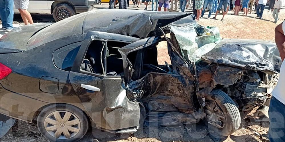 2 morts et 3 blessés dans des accidents de la route à Sidi Bouzid