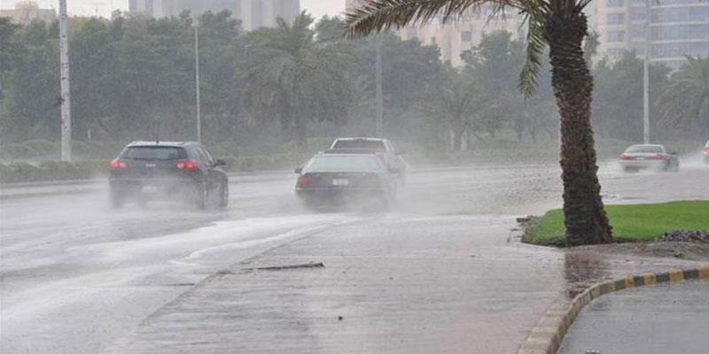 سيدي بوزيد: انقلاب سيّارة عسكريّة بسبب الأمطار