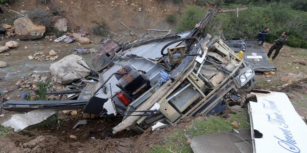 2639 حادثا أسفر عن 599 قتيلا و3863 جريحا منذ جانفي