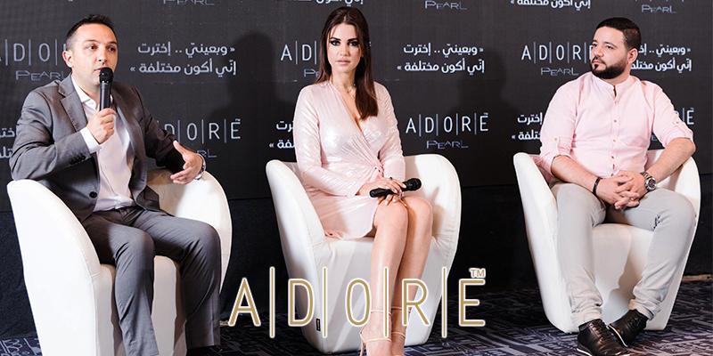 En Photos: Dorra Zarrouk Nouvelle Égérie de la marque ADORE  pour le monde arabe