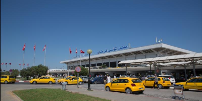 مطار تونس قرطاج: تغييرات في تنظيم ممرات حركة المرور