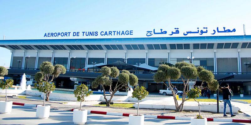 Sécurité renforcée à l'aéroport de Tunis-Carthage, aujourd'hui