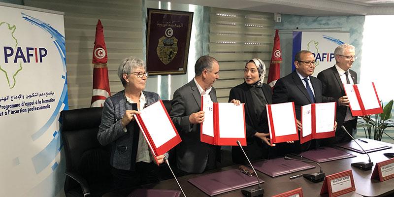 Lancement d'un partenariat franco-tunisien pour une insertion des diplômés de la formation professionnelle