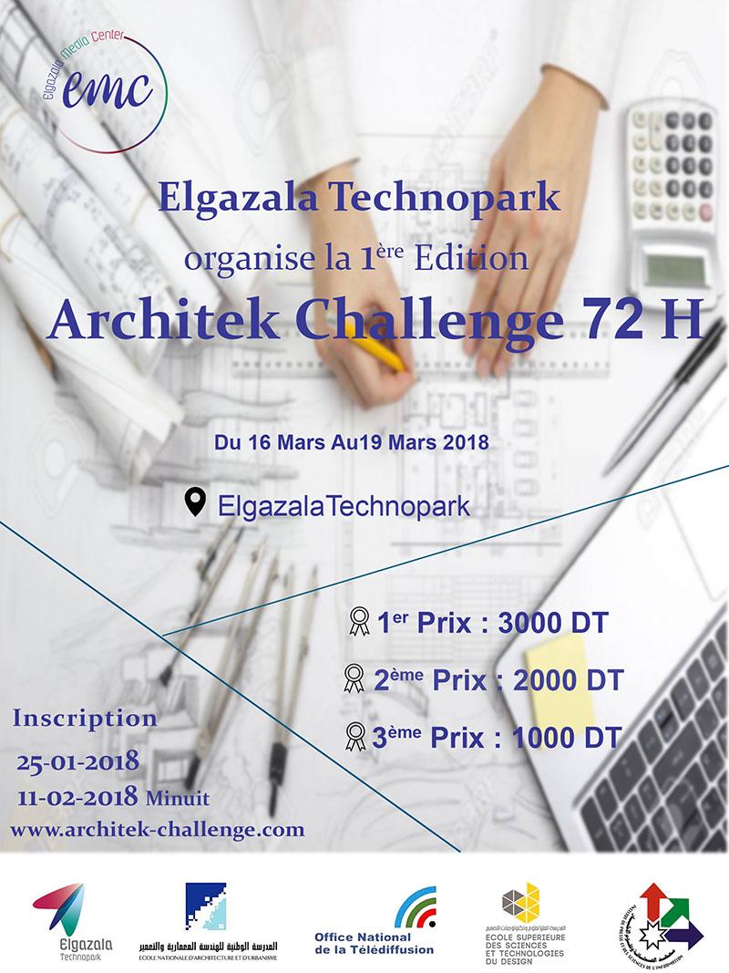 Elgazala Technopark lance la 1ère édition d'ARCHITEK CHALLENGE 72-H