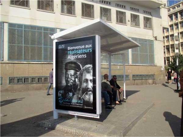 Photo du Jour : Campagne d'affichage des JCC 2015 en Algérie