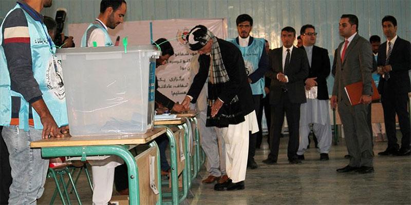 أفغانستان: مراكز الاقتراع تفتح أبوابها لاختيار رئيس جديد