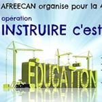 Afreecan lance l'opération : 'Instruire c'est construire' pour parrainer 200 écoliers