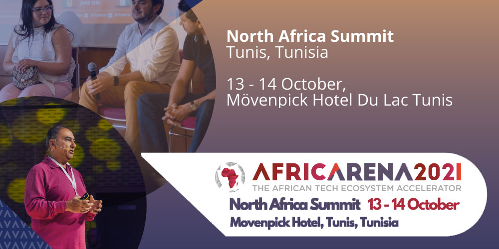 AfricArena annonce sa conférence Afrique du Nord à Tunis 12-14 octobre 2021