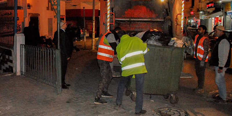 La municipalité de Tunis porte les dossiers des agents grévistes en justice