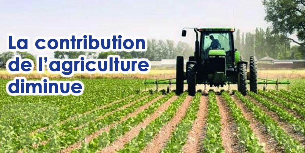 La contribution de l'agriculture en économie se rétrécit