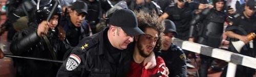 أحداث شغب عقب مباراة السوبر الإفريقة بين الأهلي و الصفاقسي