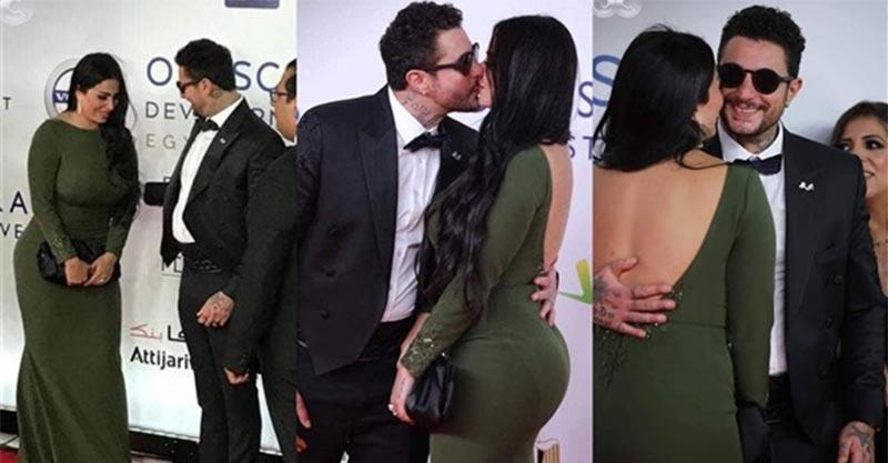 أحمد الفيشاوي يثير ضجة بصورة رومنسية جديدة مع زوجته