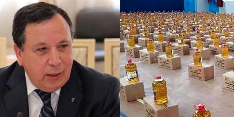 Les aides caritatives à la Tunisie sont les bienvenues, affirme le ministre des affaires étrangères