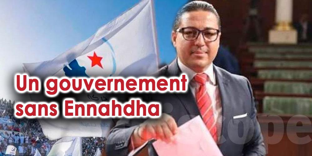 Il est temps de former un gouvernement sans Ennahdha, selon Hichem Ajbouni