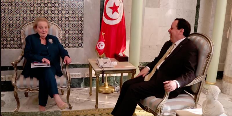 Madeleine Albright qualifie l'expérience de la Tunisie en matière de démocratie d'exemplaire