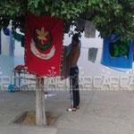 نابل: مخيم كشفي يرفع العلم الجزائري مكان العلم التونسي