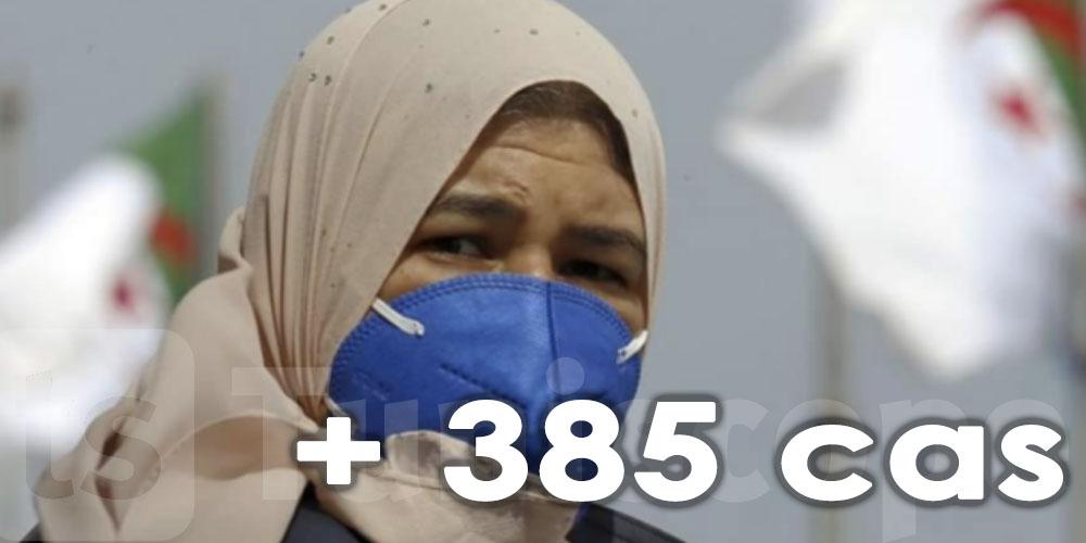 385 nouveaux cas en Algérie en 24 heures