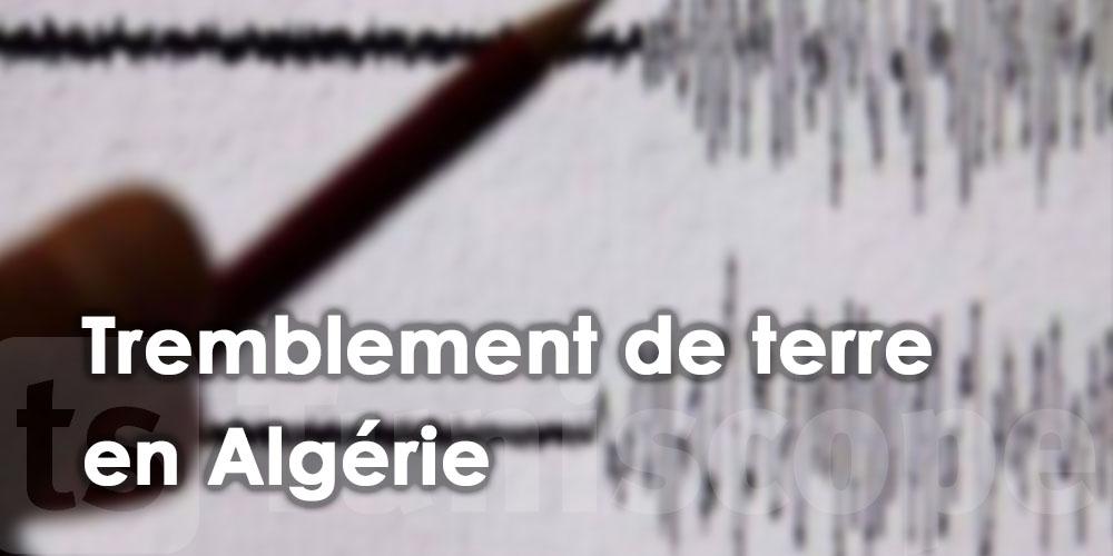 Tremblement de terre d'une magnitude de 4,3 degrés à Tipaza
